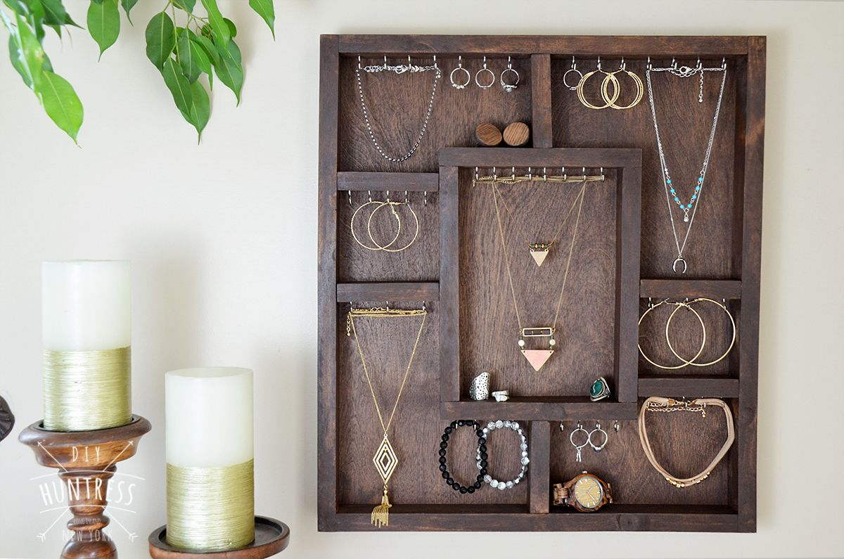 23+ Best DIY Jewelry Holder Ideas to Make Your Jewelry More Tidy ...