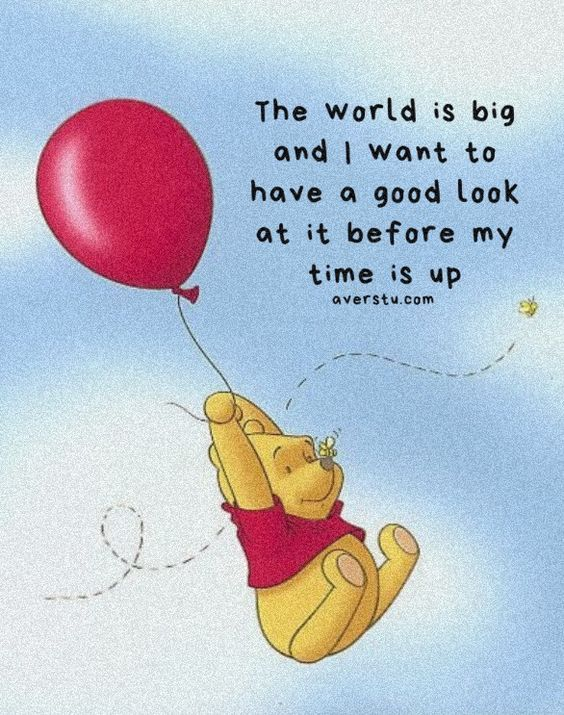 Winnie The Pooh Quotes - The Ultimate Inspirational Life Quotes