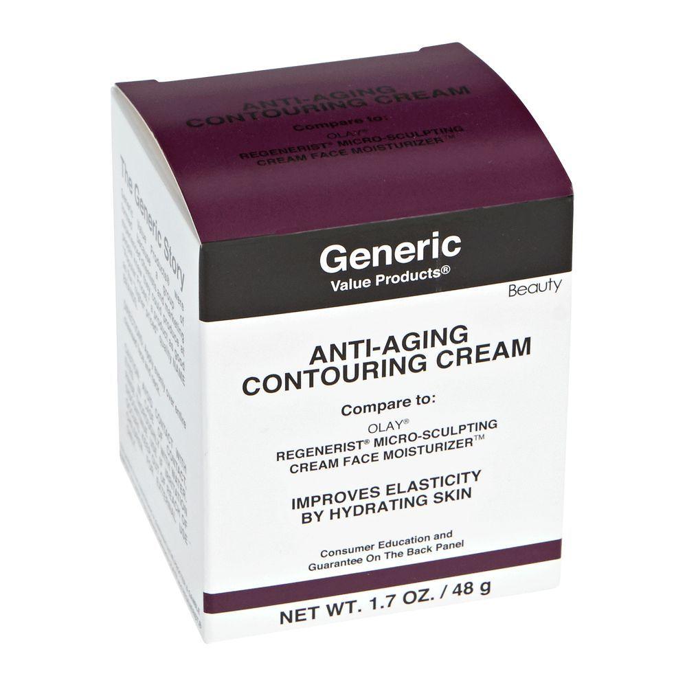Anti-Aging Contouring Cream Compare to Olay Regenerist Micro-Sculpting Cream Face Moisturizer