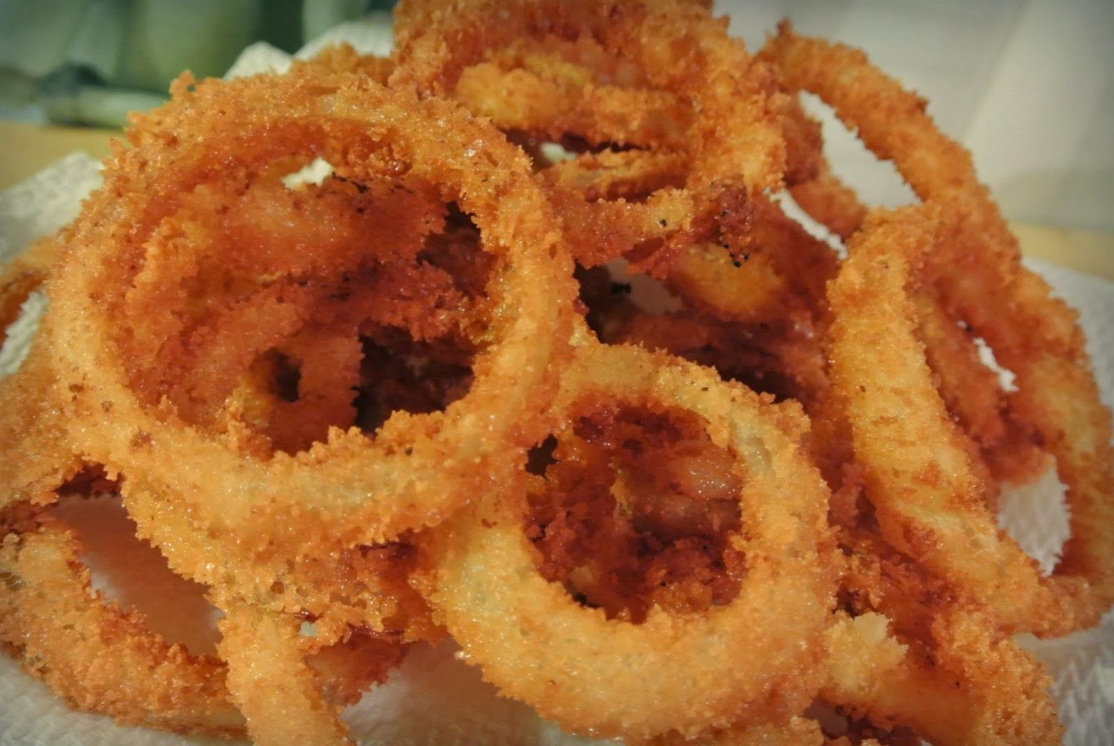 Motherhood: Finishing with Grace: The Best Onion Rings You'll Ever Have....and Make!