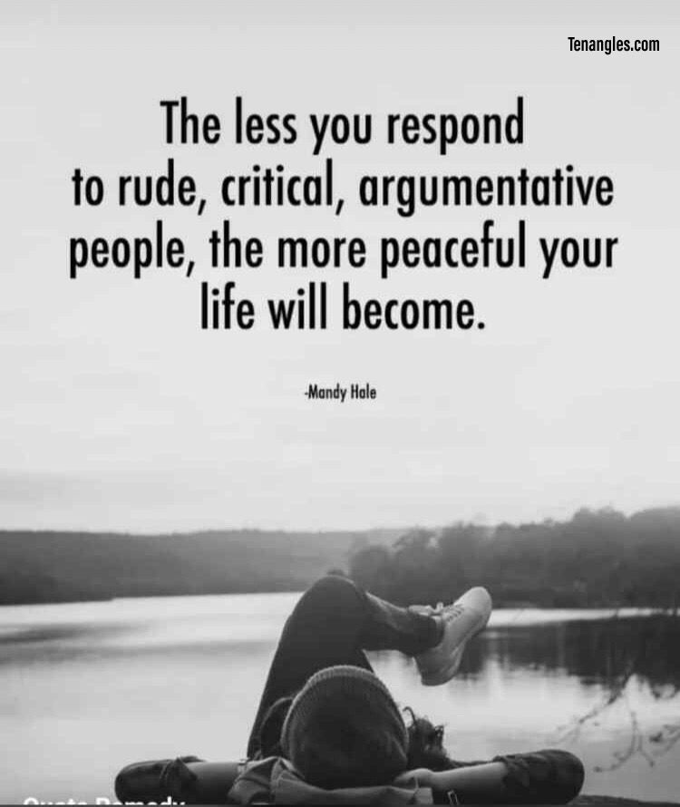 Peaceful Life Life Lesson Quotes Quotes To Live By Quotes