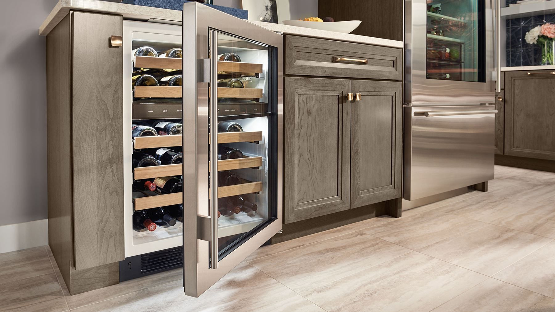 Get the best out of every glass with a wine refrigerator ...