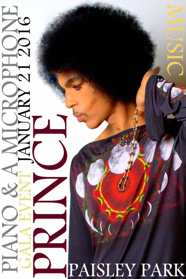 Prince (@Prince) | Twitter - 7:07 AM - 5 Jan 2016