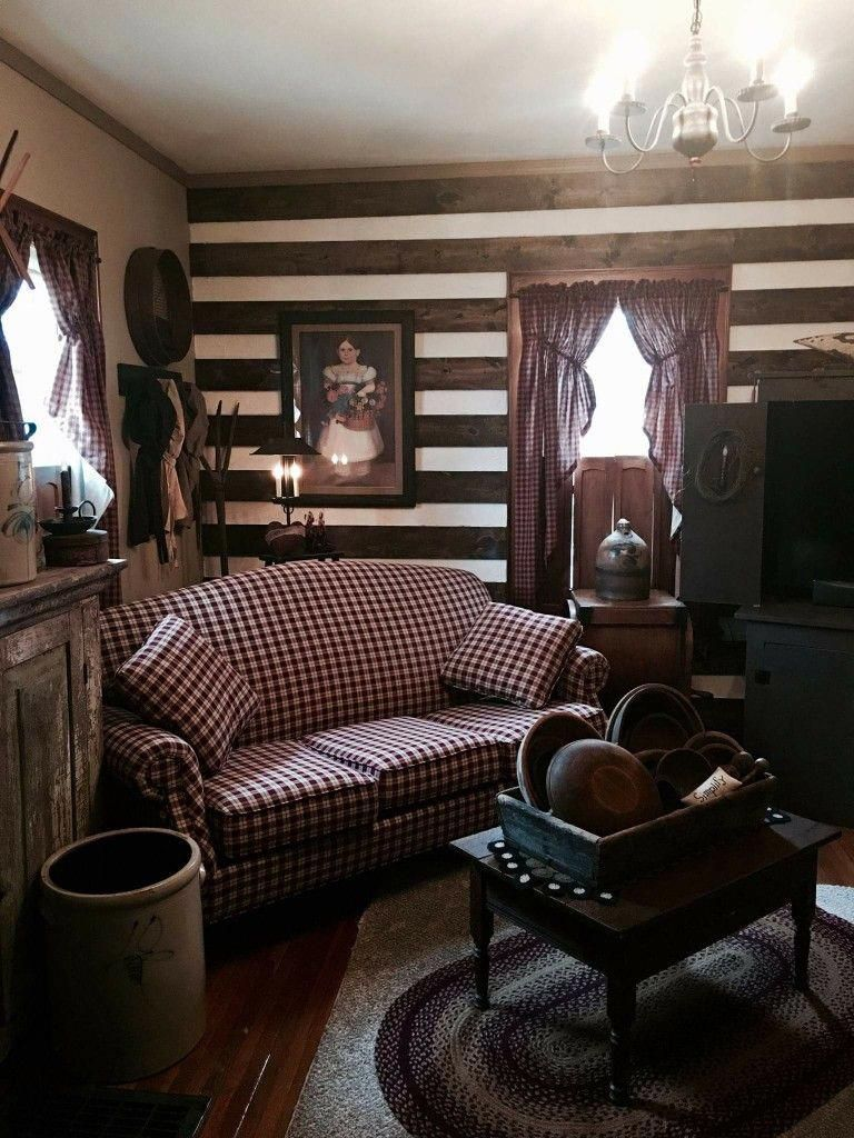 primitive country homes picture #Primitivehomes | Log home ...