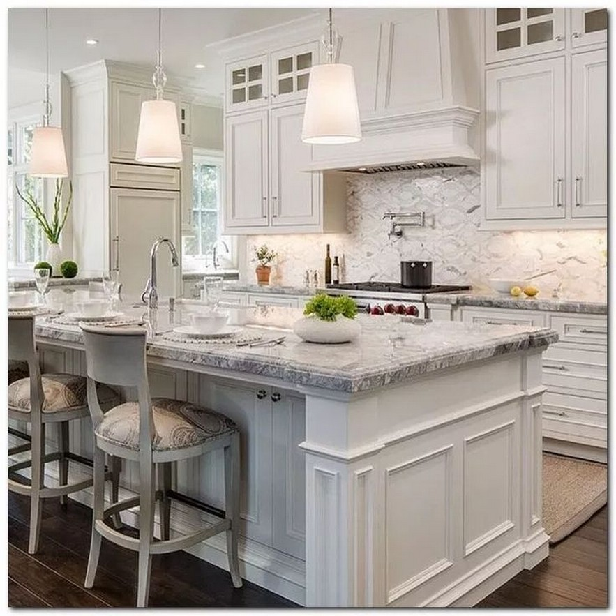 65 lovely chic kitchen renovation ideas to try now 2019