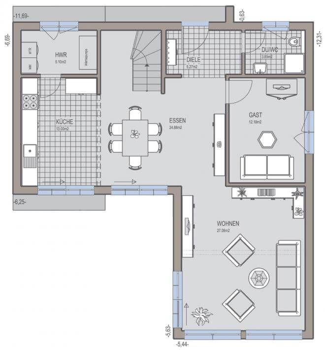 Bauhaus 174 Kecók Pinterest Grundrisse Hausbau Und