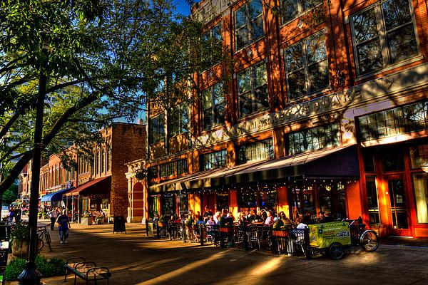 Four Market Square - Knoxville Tennessee - Fine Art Prints by David Patterson http://david-patterson.artistwebsites.com/art/all/tennessee/all #Tennessee #Knoxville