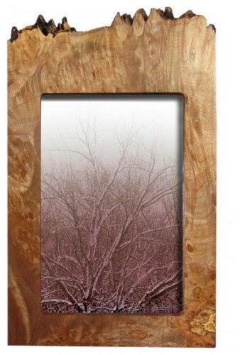 Maple Burl Vertical Frame For The Home Wooden Picture