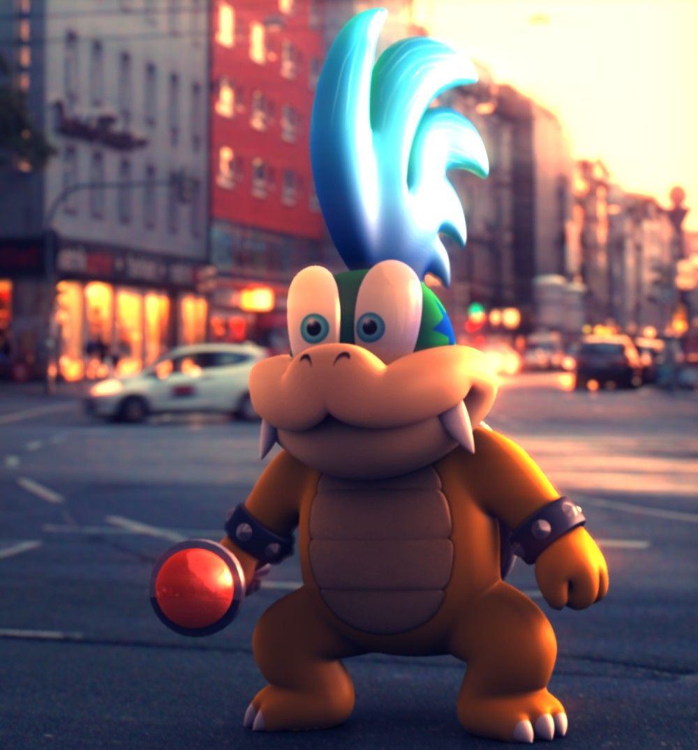 Larry Koopa in Real World by Kampfdroide.deviantart.com on