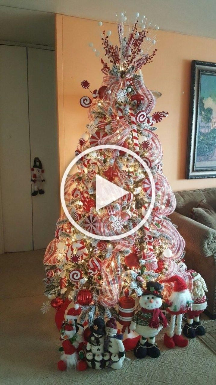 Charming Candy Cane Christmas Decoration Ideas 25 in 2020