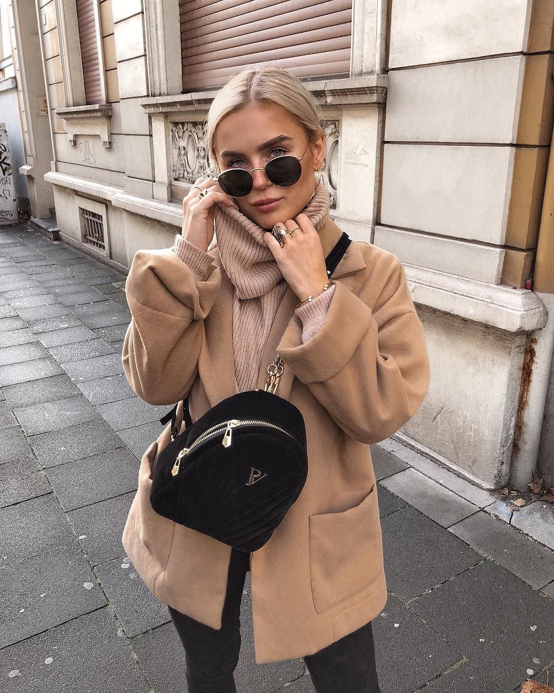 Romina Meier On Instagram Today S Look With My Mini Bagpack From