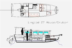 re small houseboat plans - Tiny Houseboat Plans