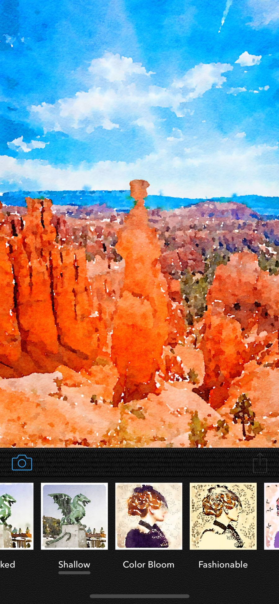 Waterlogue On The App Store In 2019 Watercolor Images Photoshop