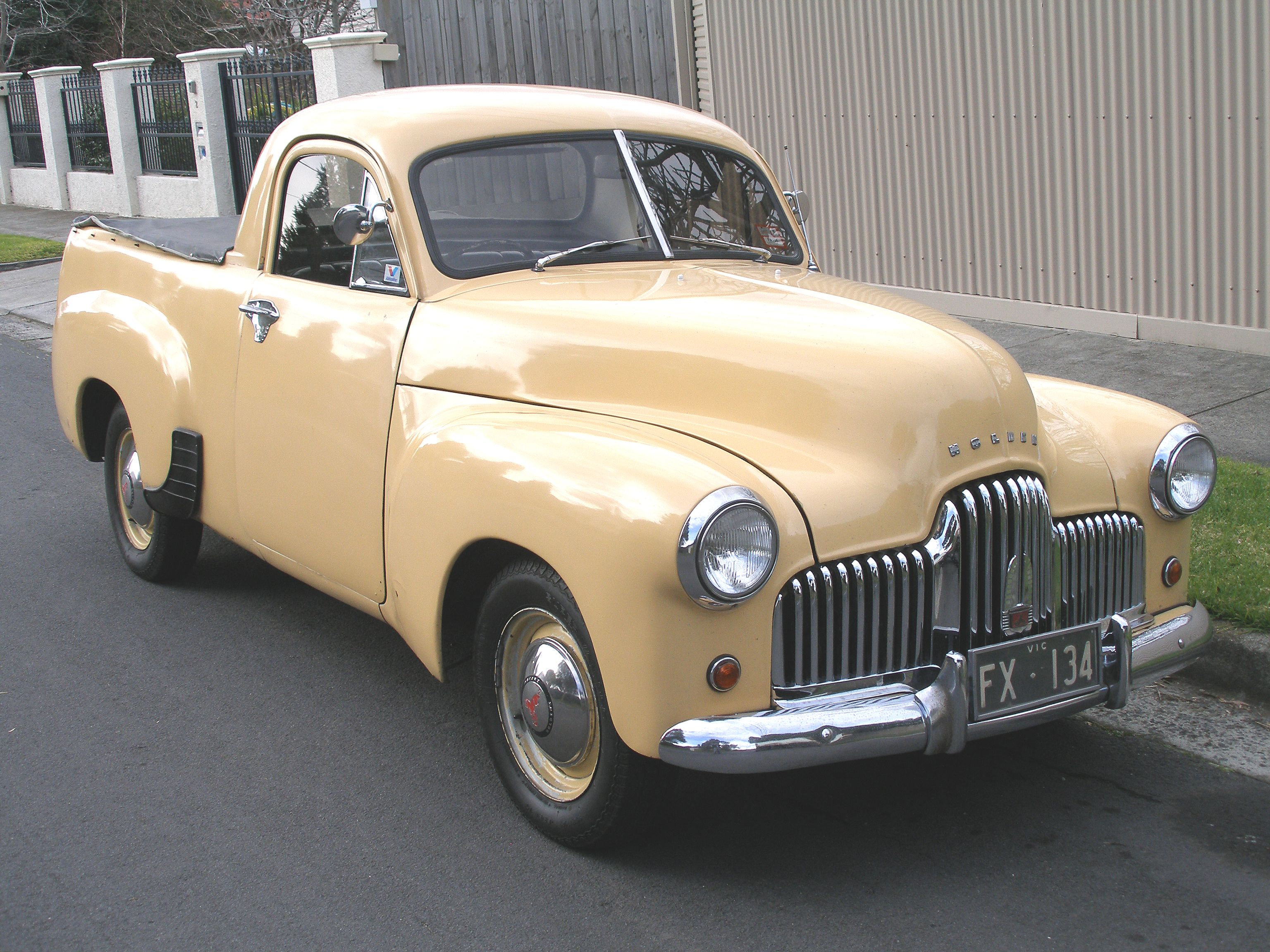 1951 Holden 50-2106 utility truck ~ GM Holden Ltd, is an Australian ...