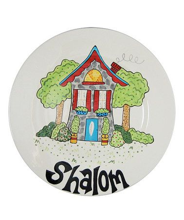 Take a look at this 'Shalom' Platter by Home, Etc. on #zulily today!