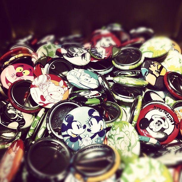 Disney Pins! So cute! <3