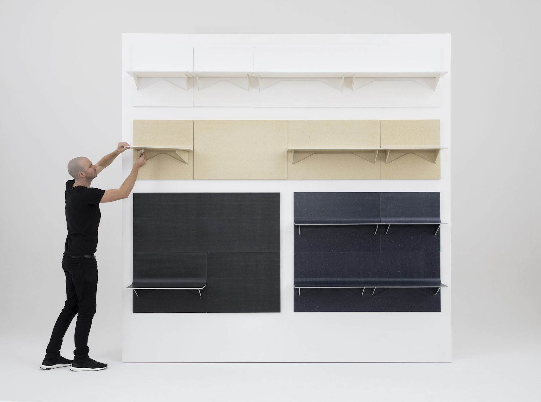 Amazing Shift. Shift Is A Minimalist Shelving ... Pictures