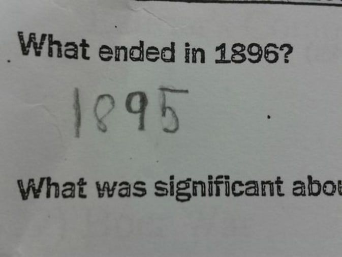 Best Funny Test Answers 38 Test Answers That Are Totally Wrong but 100% Genius 38 Test Answers That Are Totally Wrong but 100% Genius | BlazePress 4