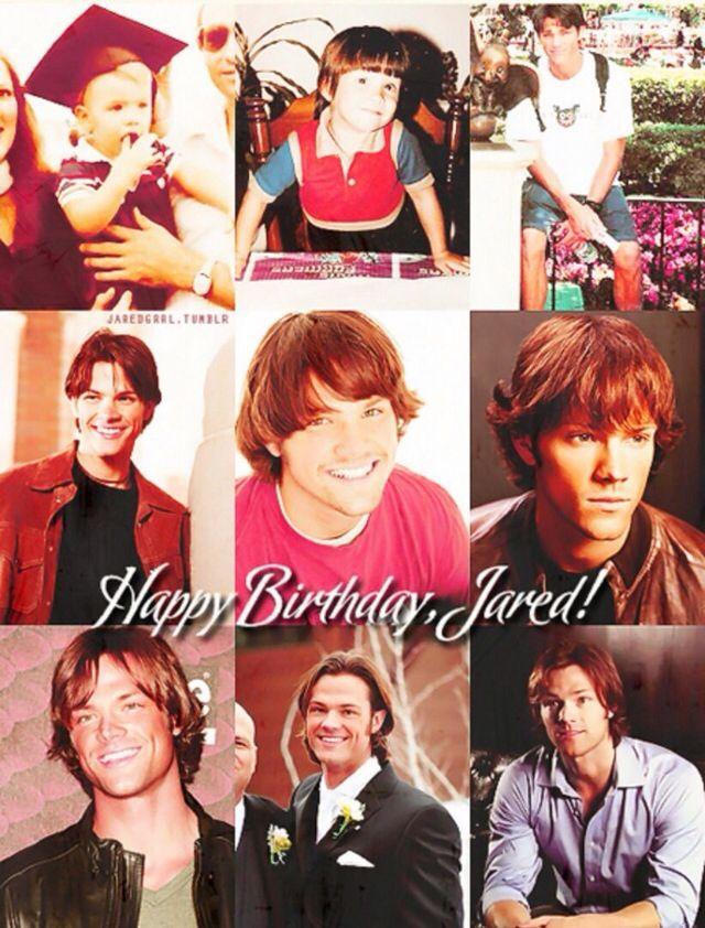 jared padalecki birthday Happy Birthday Jared Padalecki!!   Supernatural   Jared padalecki  jared padalecki birthday