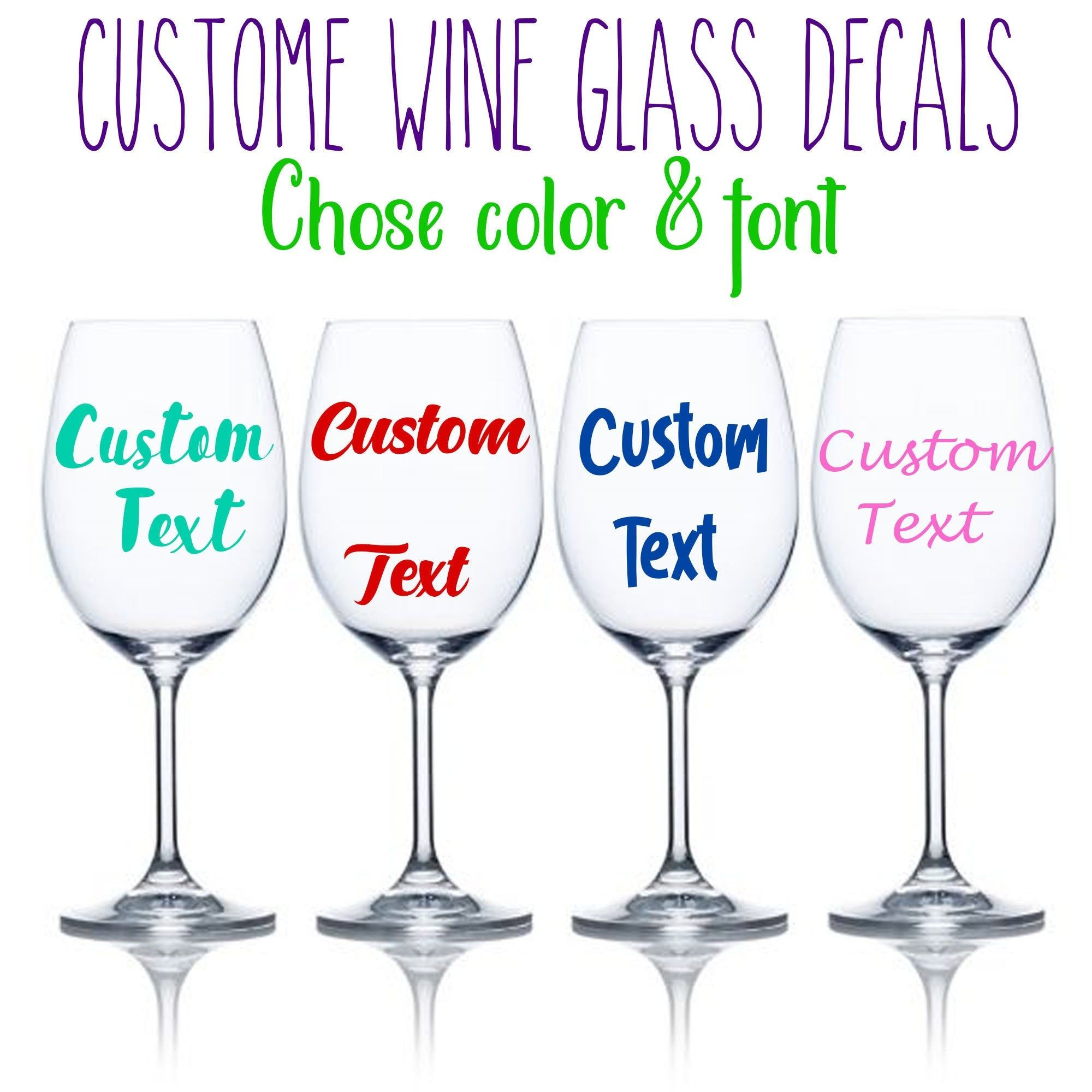 14+ What size decal for wine glass trends