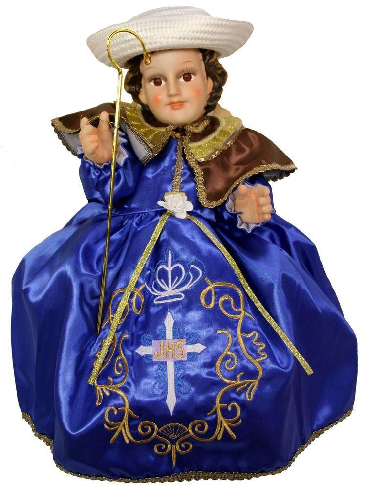 Santo Niño de Atocha, Vestido Nino Dios,Ropa Nino Dios,Baby Jesus ...