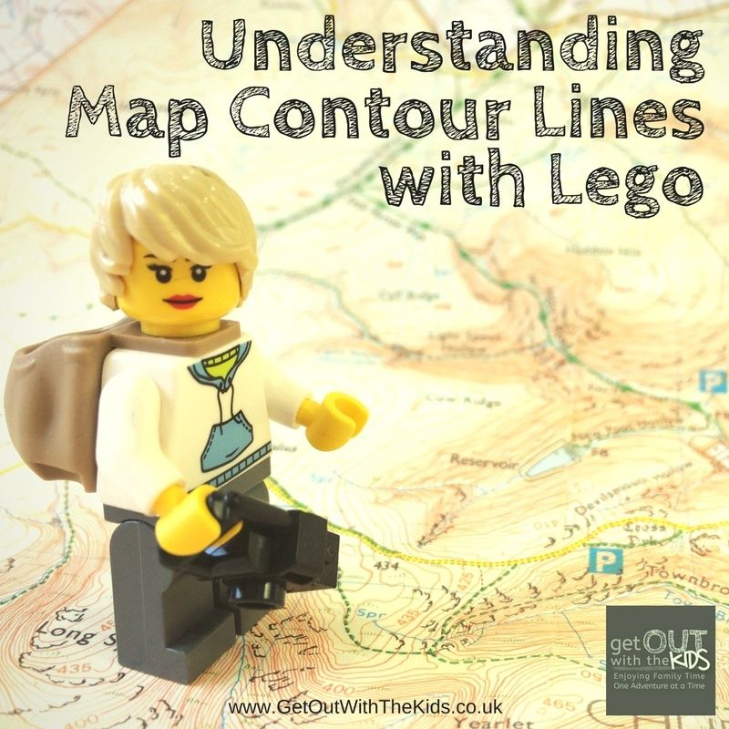 How to use Lego to help explain map contour lines to kids