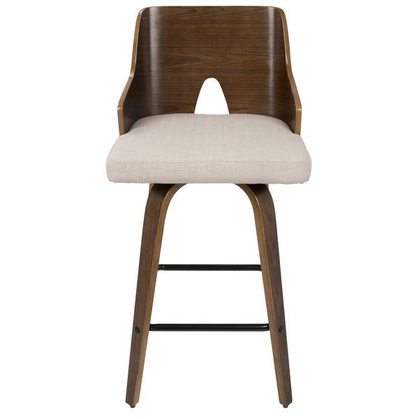 Fabulous Beauviore 26 Swivel Bar Stool Miller In 2019 Modern Caraccident5 Cool Chair Designs And Ideas Caraccident5Info