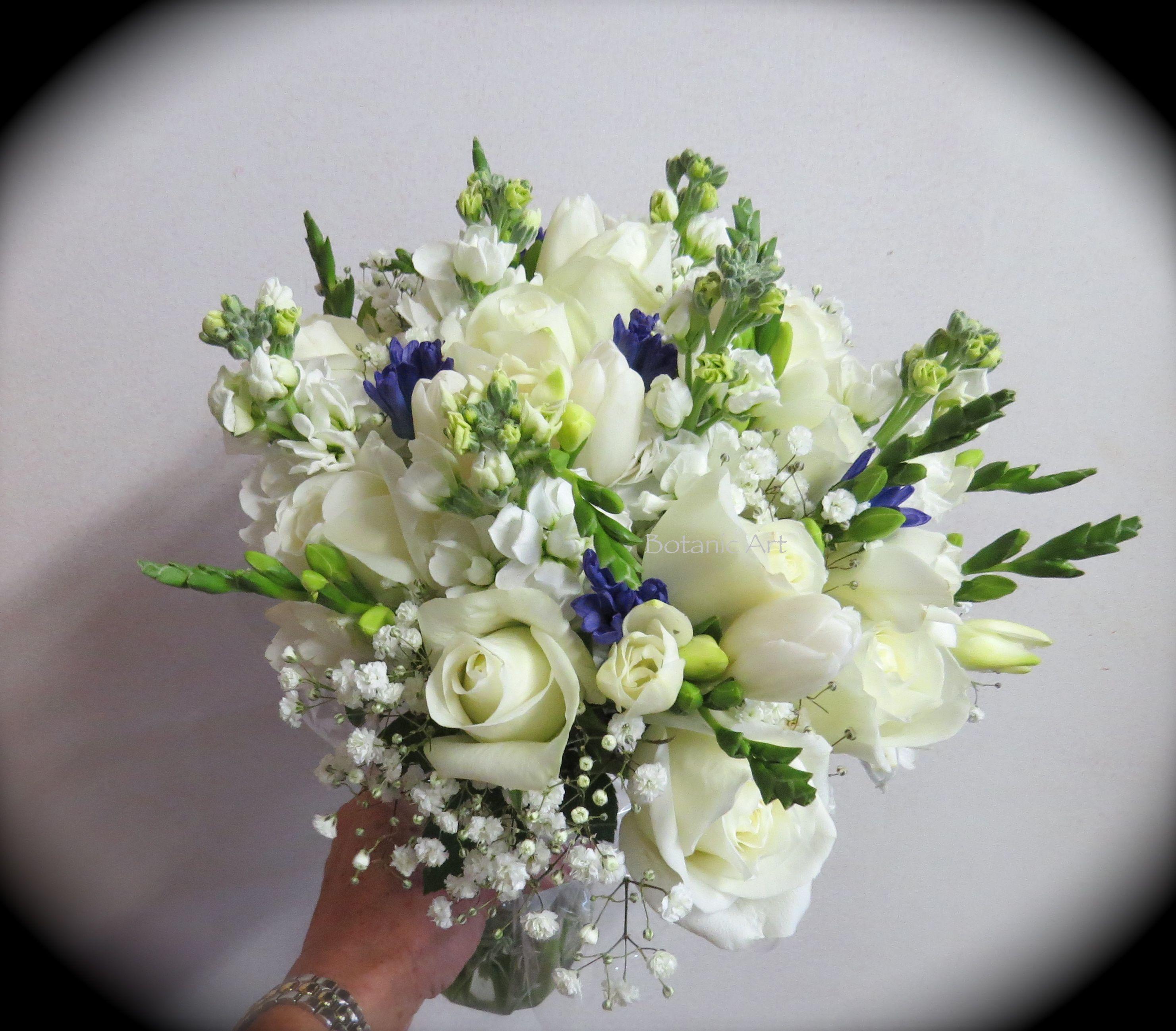 26 Rustic Wedding Ideas That Still Feel Elevated: Winter White Wedding Bouquet, Brides Bouquet, Tulips