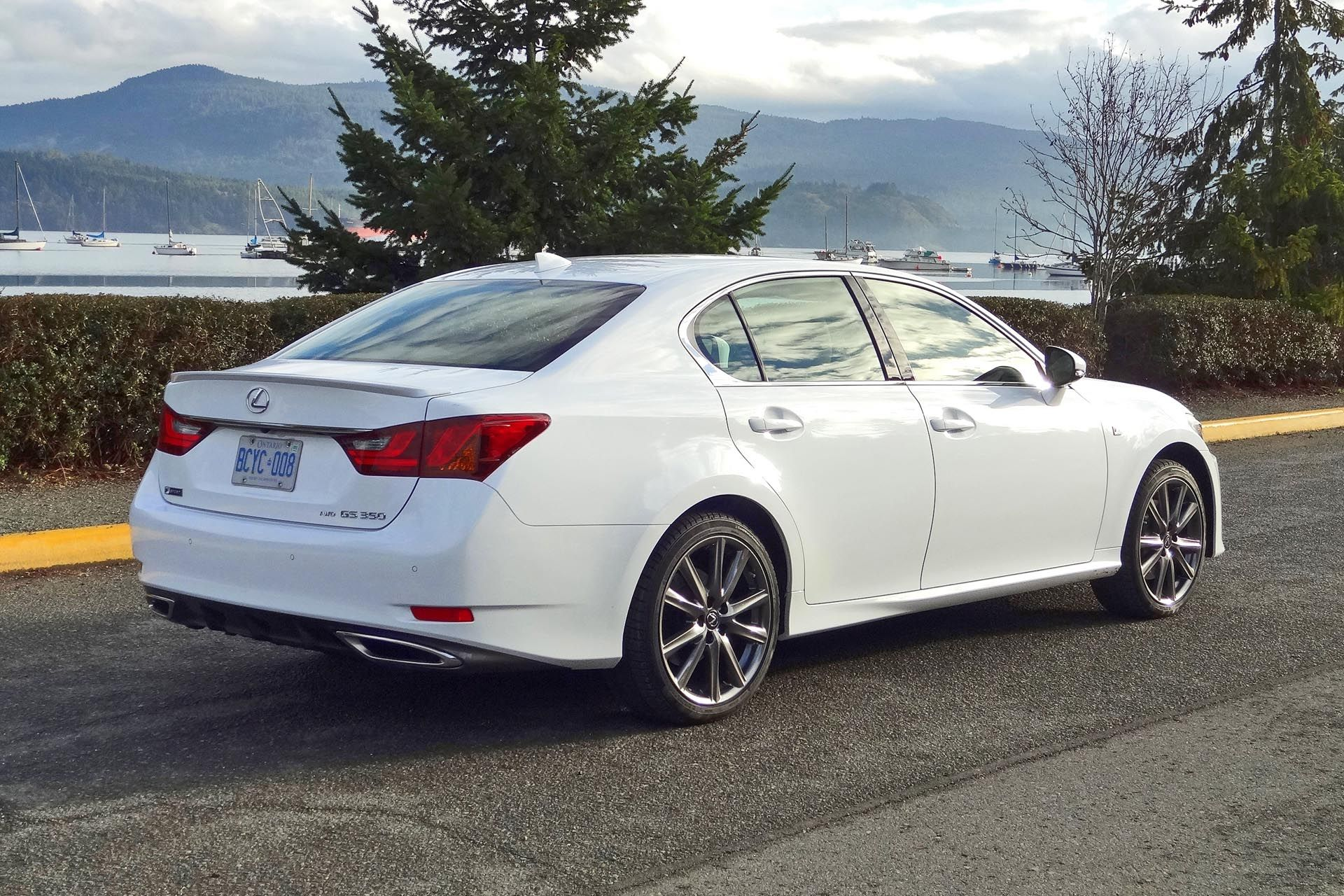 2015 Lexus GS350 AWD F Sport In Ultra White