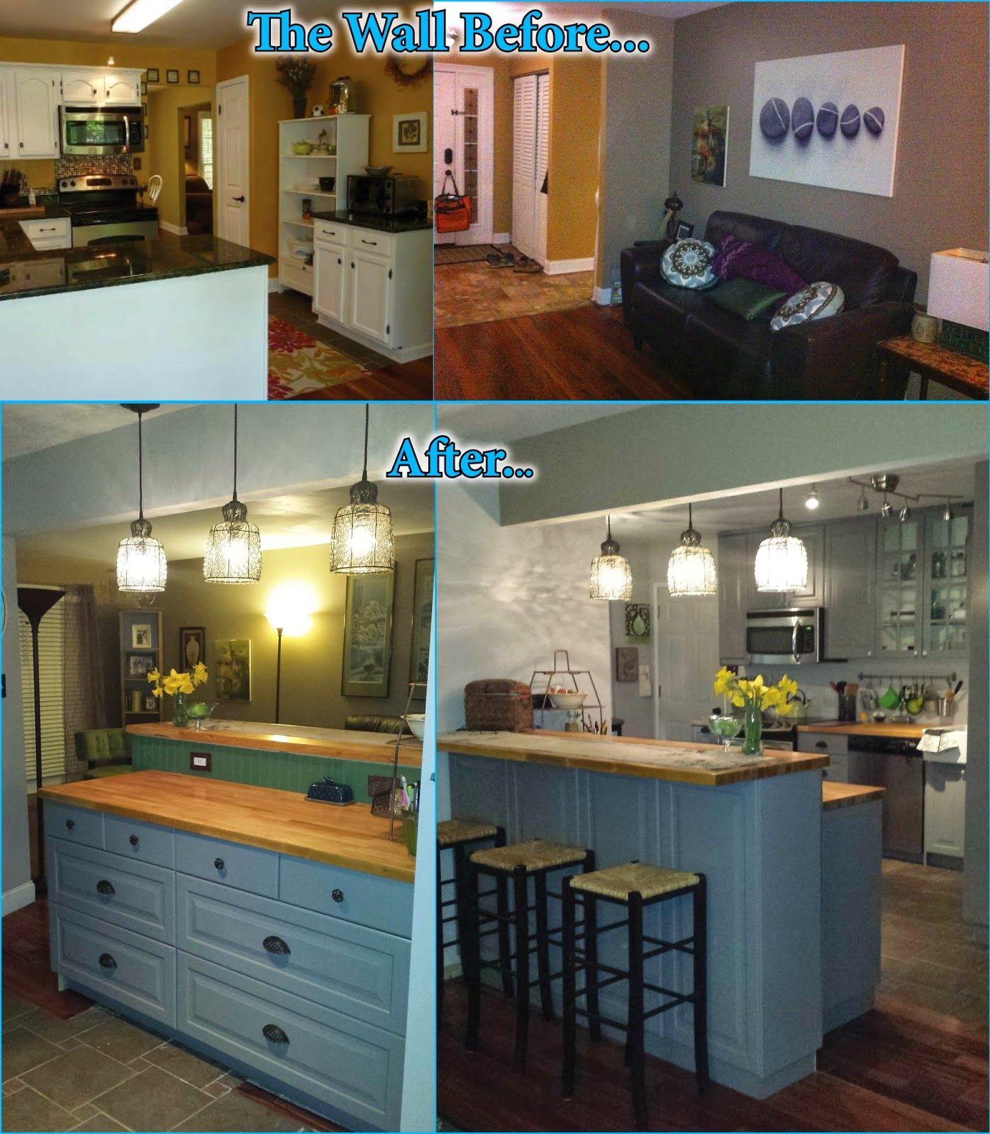 70s Kitchen Remodel Before And After