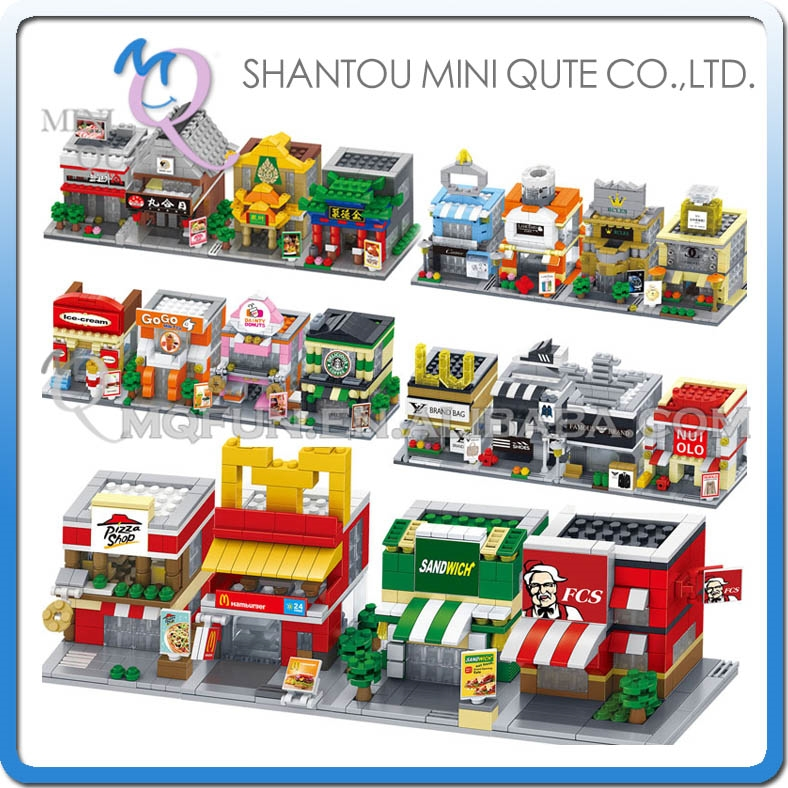 14.28$  Buy now - http://alir7b.shopchina.info/go.php?t=32775486818 - Mini Qute DR.STAR 5 styles Food courts Accessories Clothes plastic building block model education educational toy  #shopstyle