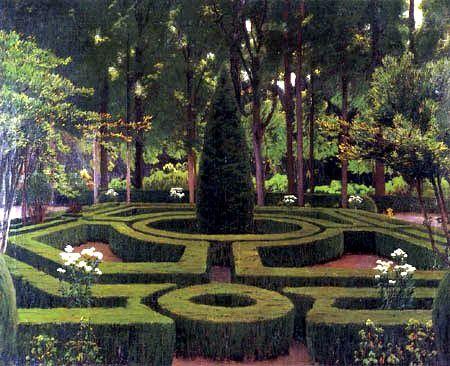 Aranjuez Jardines Qué Ver En Aranjuez Pintor Español Pintura De Jardín Arte Español