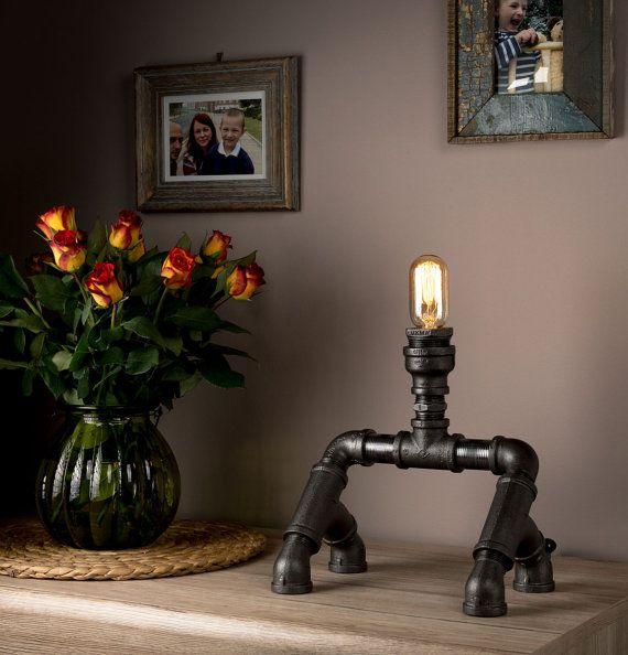 Steampunk Rohr Licht Schlafzimmer Tischleuchten mit Ultimate sieht ...