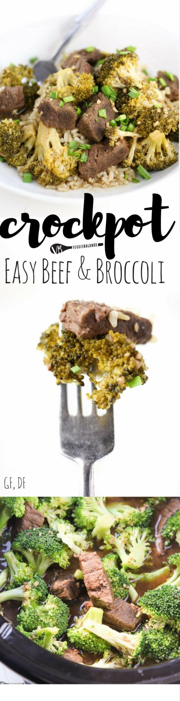 Crockpot Beef and Broccoli recipe made simple easy and gluten-free! 8 easy ingredients zero fuss and in no time you'll have dinner on the table. {Gluten-Free Dairy-Free} #paleolunch #beefandbroccoli