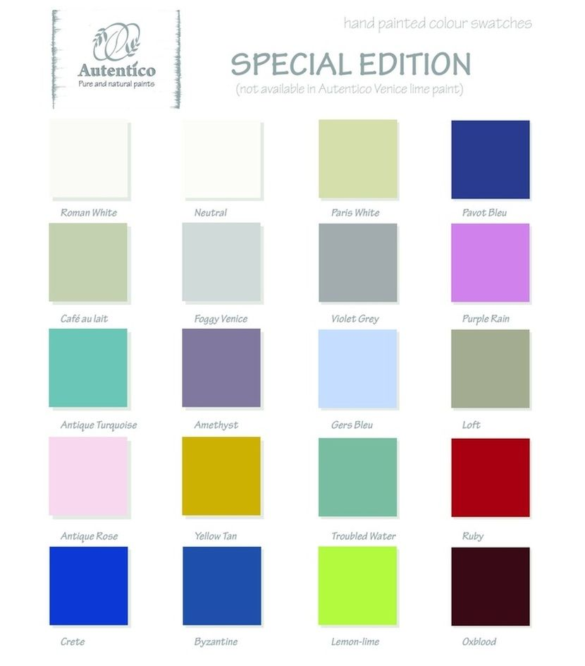 shabby chic paint colorsWow have you seen these new special edition colours by