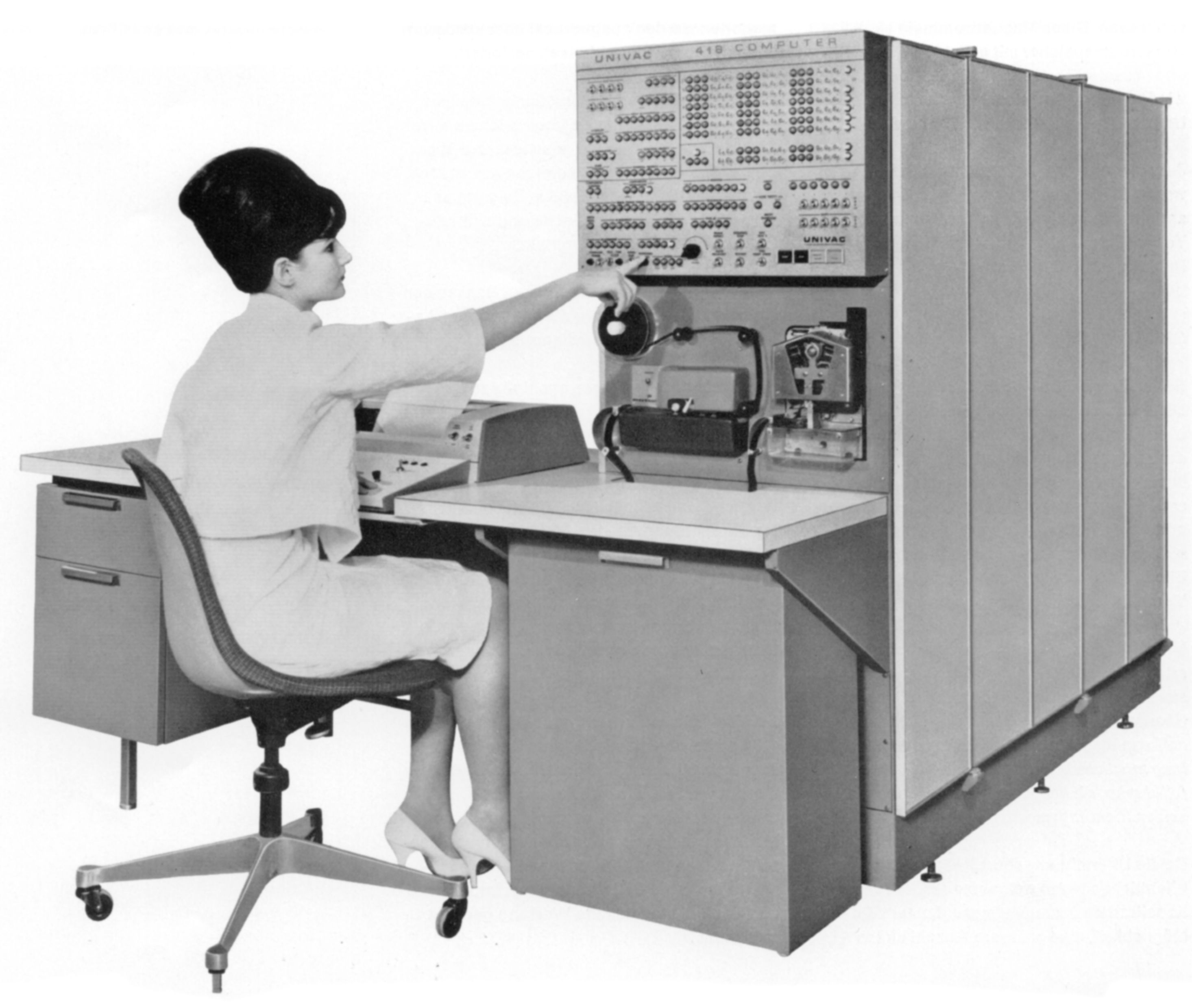 Computers Technology: UNIVAC 418 Real Time System, 1964