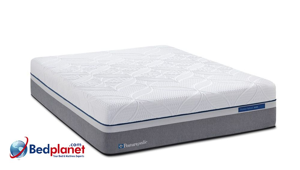 Sealy Posturepedic Hybrid Copper Plush Mattress Bedplanet Bed Planet