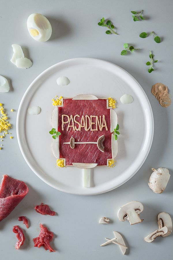 Beautiful Food Artworks Feature Travel Destinations In Europe, The U.S - DesignTAXI.com