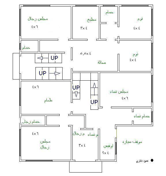 تصاميم فلل دوبلكس 2014 House Plans How To Plan Floor Plans