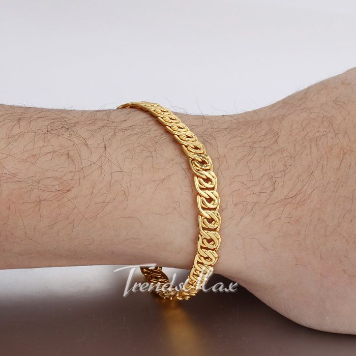 d5d8f201253fa NEW ARRIVAL Yellow Gold Filled Bracelet@Trendsmax | bracelets in ...