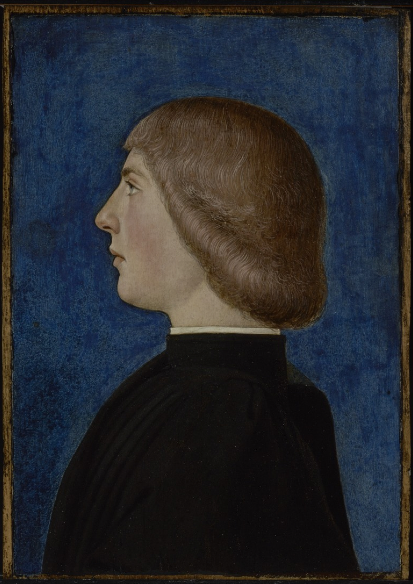 Ferrarese School, Portrait of a Young Man, later 15thC, Getty Museum