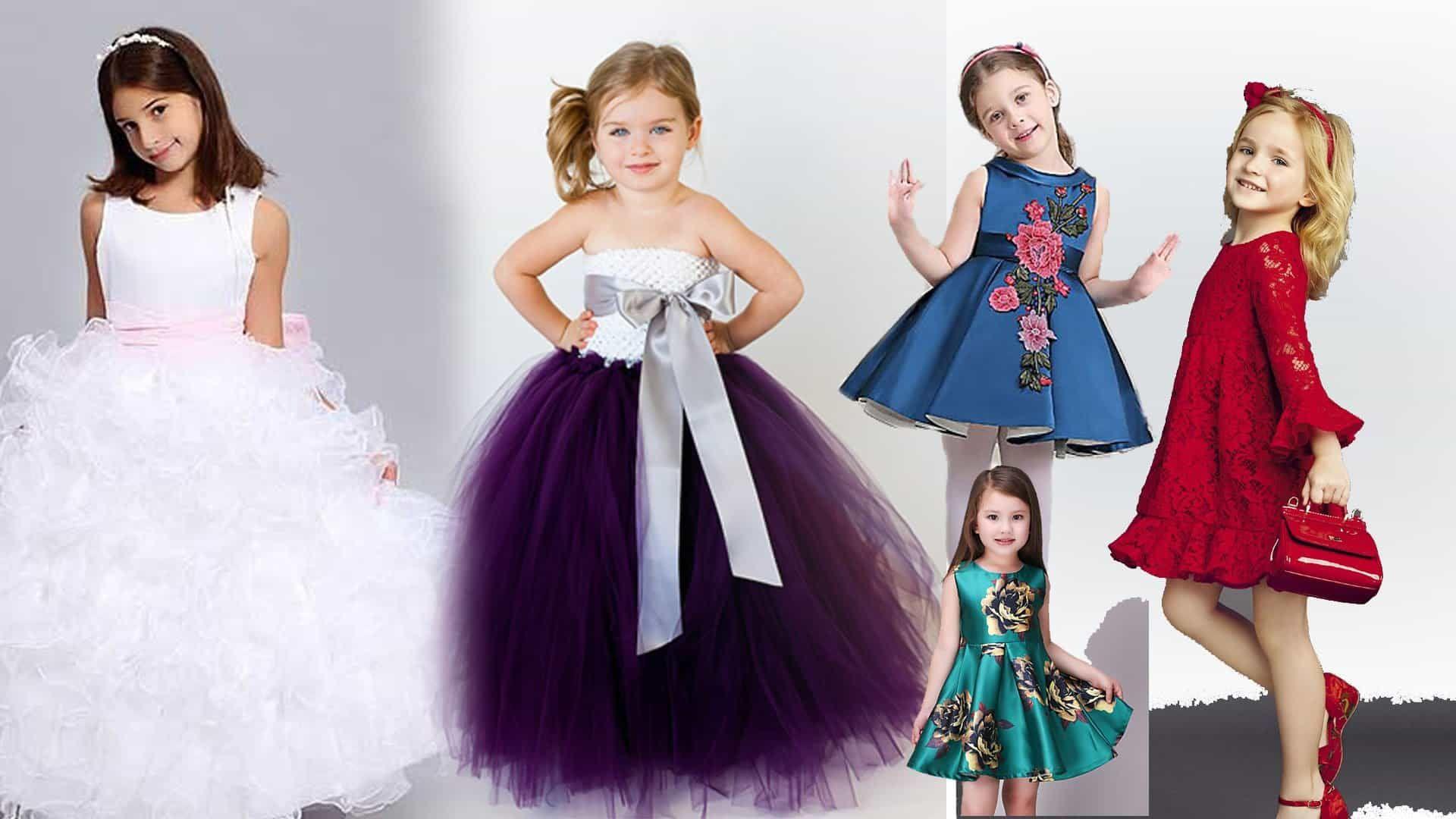 فساتين ملابس للعيد 2020 للبنات الكبار Flower Girl Dresses Wedding Dresses Dresses