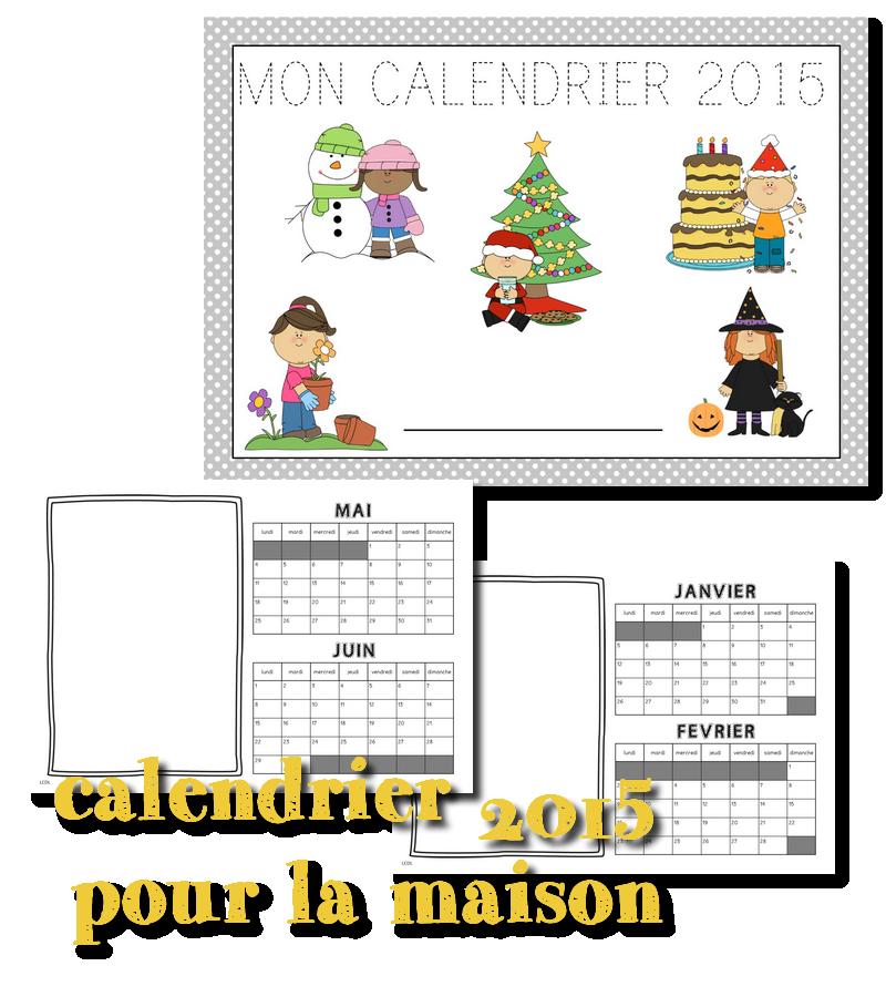 Calendrier Classe De Laurene.Cadeau De Noel Un Calendrier Gs Education Scrapbook