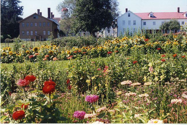 Herb Gardens ~ Canterbury Shaker Village, New Hampshire ...