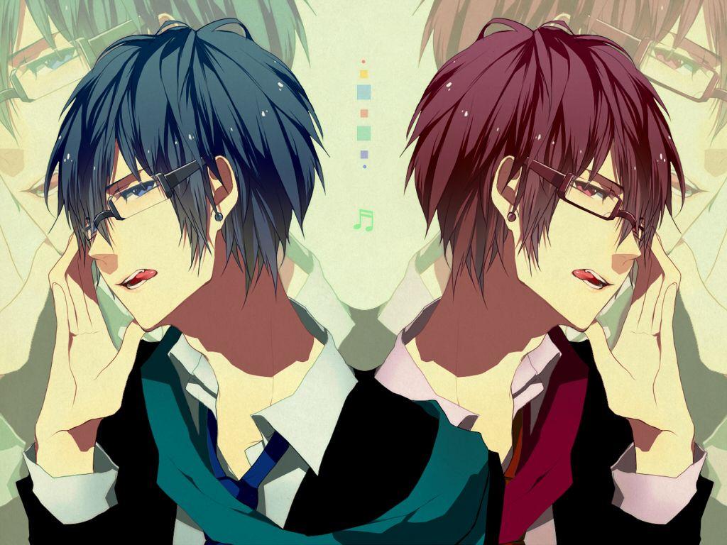 vocaloid kaito and akaito