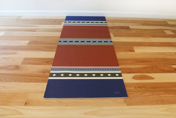 Yoga mat fitness mat health and well being workout mat training exercise mat: SAMPLE SALE