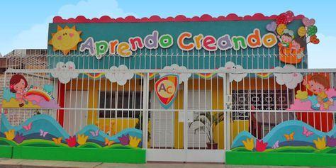 Fachadas De Guarderias Infantiles Buscar Con Google Guarderia Infantil Decoraciones De Guarderia Diseno Preescolar