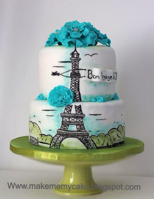 Make me my Cake: HOW TO HAND PAINT A CAKE