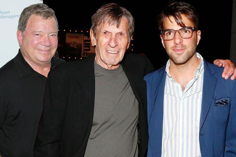 William Shatner pays tribute to Star Trek's Leonard Nimoy: