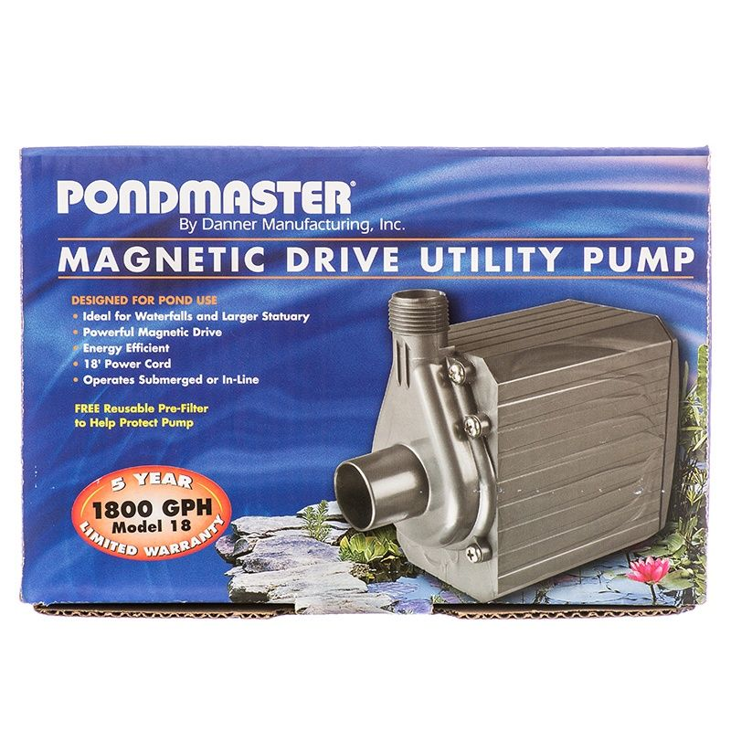 Pondmaster Pondmaster Pond Mag Magnetic Drive Water Pump Pond Water Garden Pumps Pond Pumps Utility Pumps Water Pumps